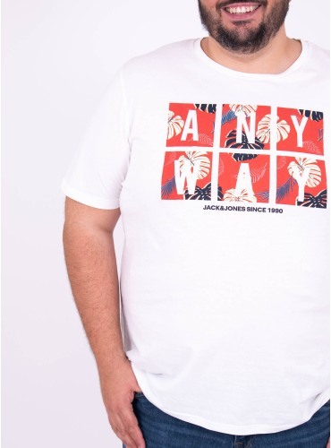 Camiseta Flame Blanco de...