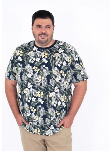 Camiseta Tropic Marino de...