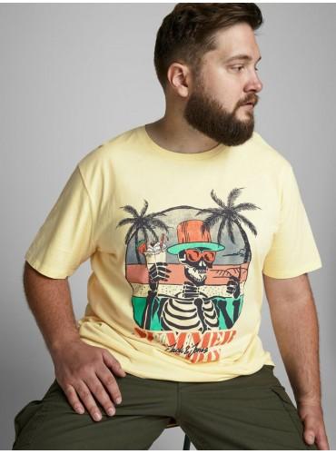 Camiseta Niket Amarilla de...