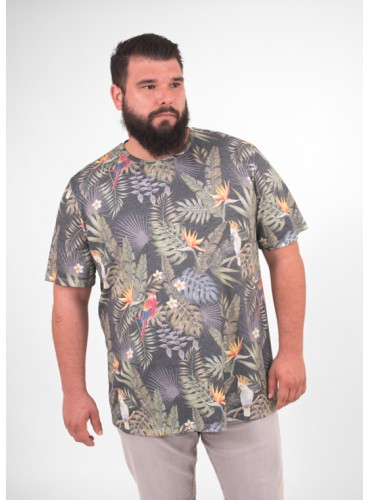 Camiseta Tropical de...