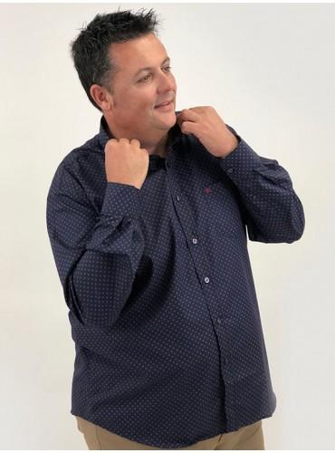 Camisa estampado bicolor...