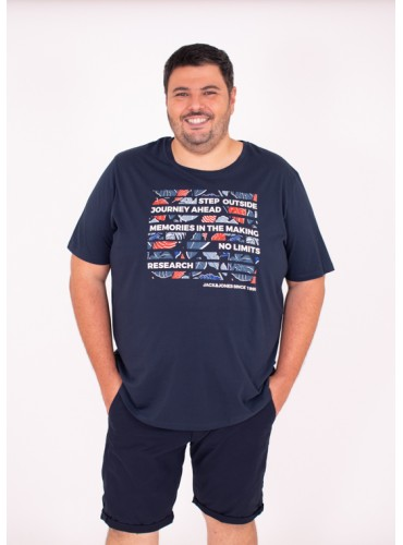 Camiseta Flame Marino de...