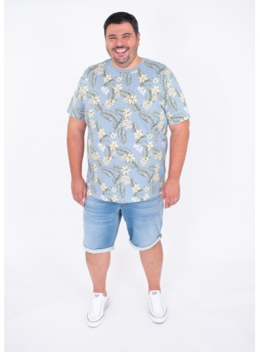 Camiseta Tropic Celeste de...