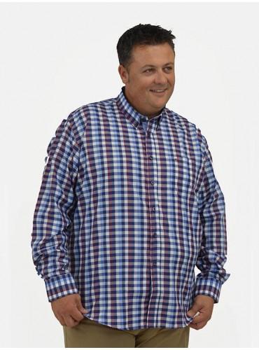 Camisa cuadro vichy Regular...