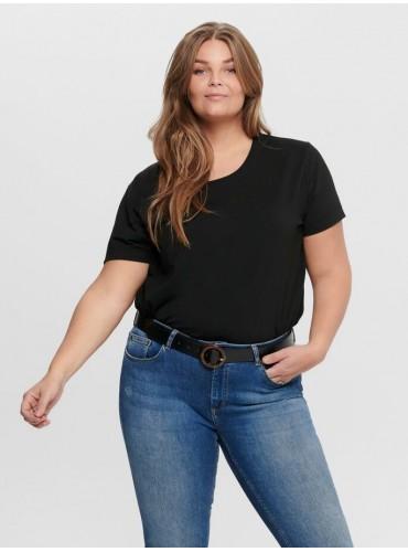 Camiseta Carmakoma Negro de...