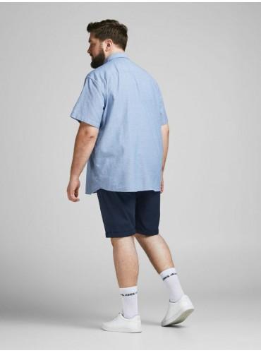 Camisa Abel Azul de JACK&JONES