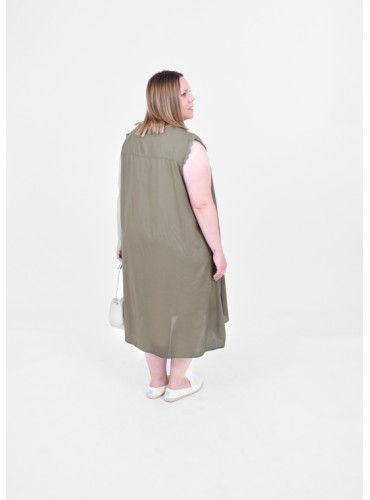 Vestido Mumi Kaki de ONLY...