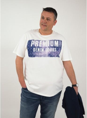 Camiseta estampada premium