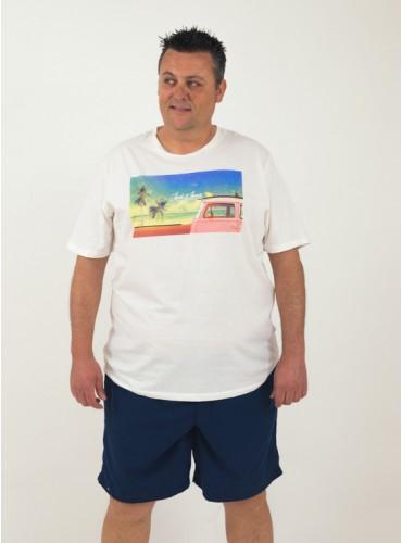 Camiseta Hotel blanca de...