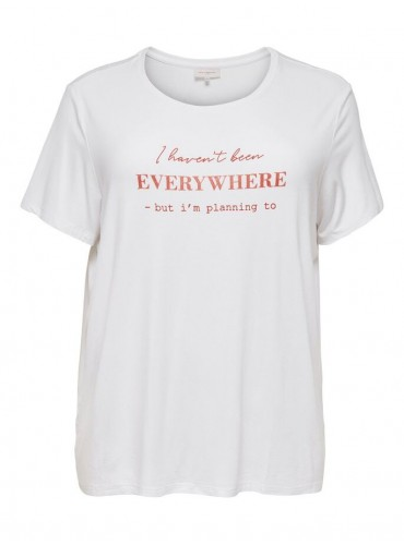 Camiseta Hikimg de ONLY...