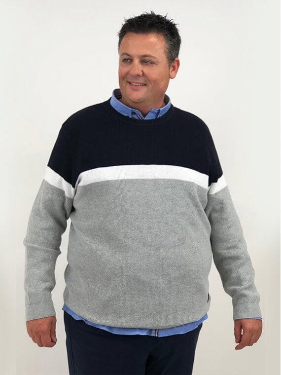 jersey-de-punto-con-motivos-claros-y-oscuros