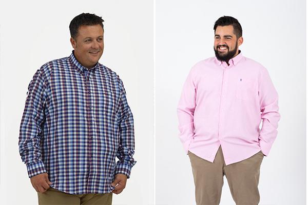 Camisas de hombre de tallas grandes
