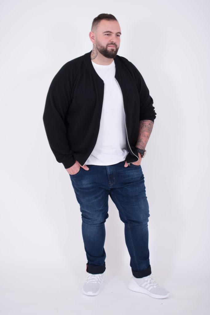 chaqueta de hombre tallas grandes en rebajas