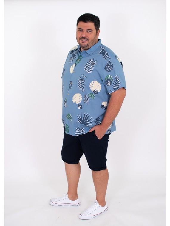 Combinar camisa estampada plus size